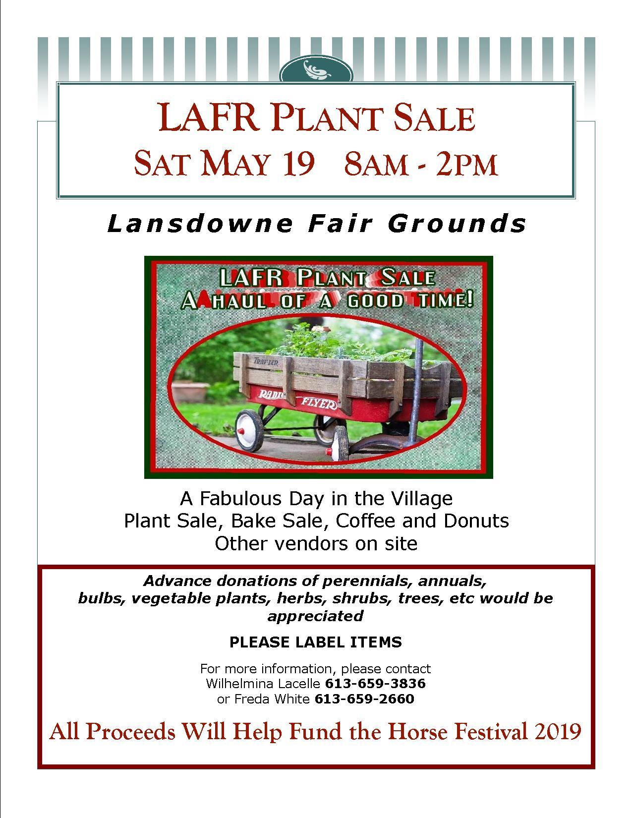 LAFR Annual Plant Sale