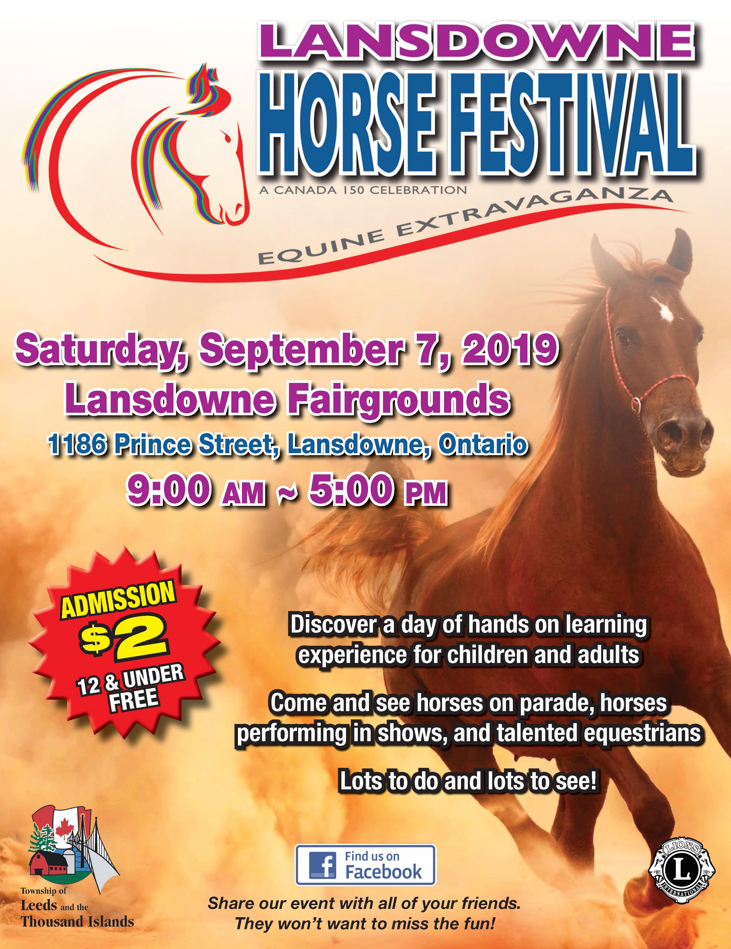 Lansdowne Horse Festival 2019